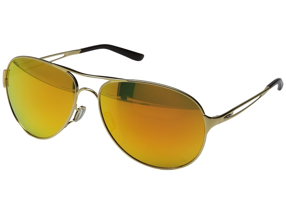 Oakley - Caveat (Fire Iridium w/ Polished Gold) Sport Sunglasses