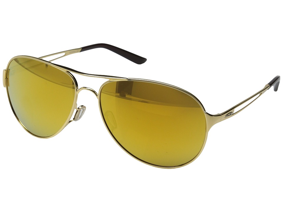 Oakley - Caveat (24K Iridium w/ Polished Gold) Sport Sunglasses