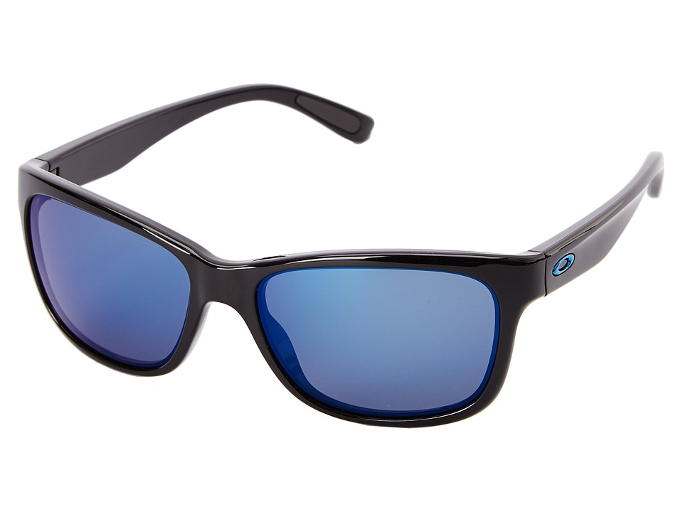 Oakley - Forehand (Ice Iridium w/ Polished Black) Sport Sunglasses
