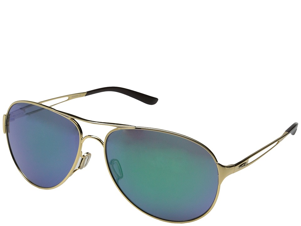 Oakley - Caveat (Jade Iridium w/ Polished Gold) Sport Sunglasses