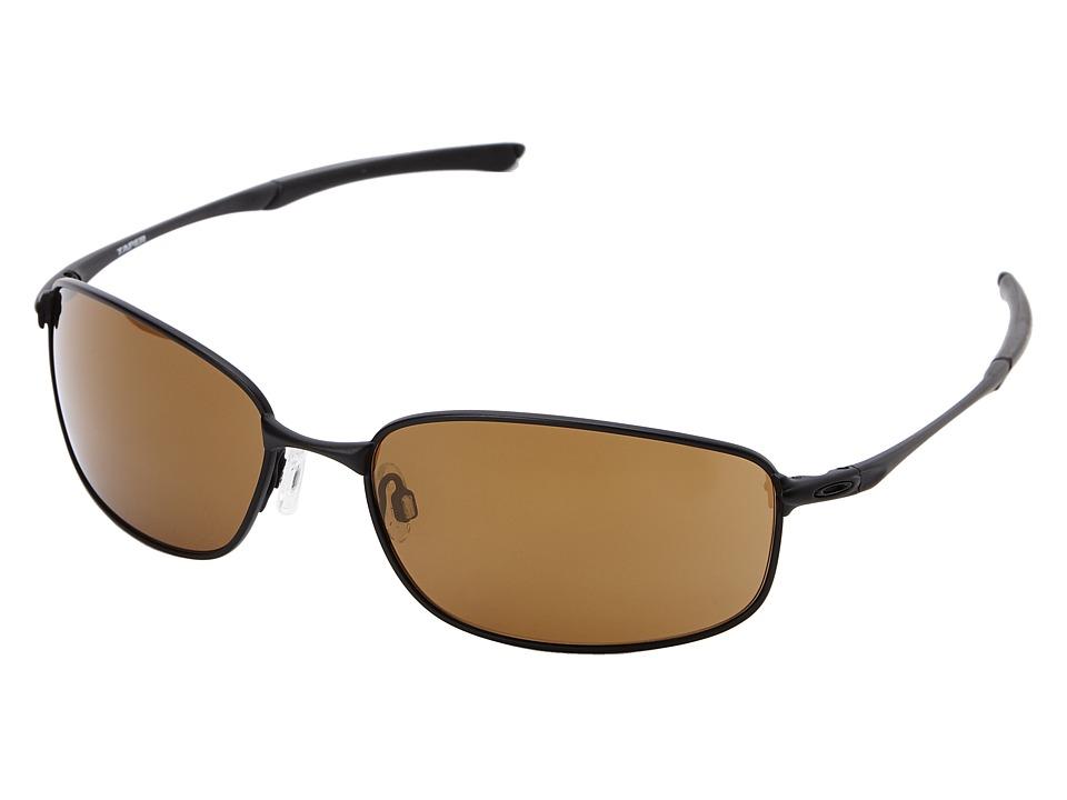 Oakley - Taper (Gold Iridium w/ Matte Black) Fashion Sunglasses