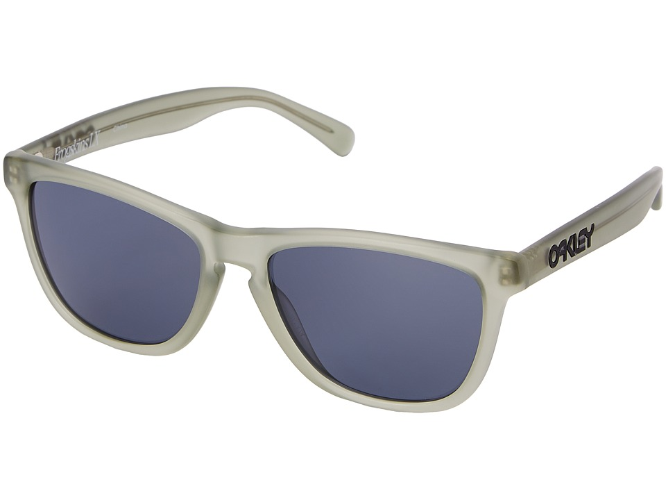 Oakley - Frogskins LX (Grey w/ Satin Olive) Fashion Sunglasses