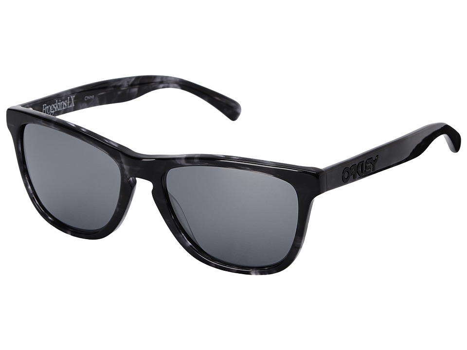 Oakley - Frogskins LX (Black Iridium w/ Dark Grey Tortoise) Fashion Sunglasses