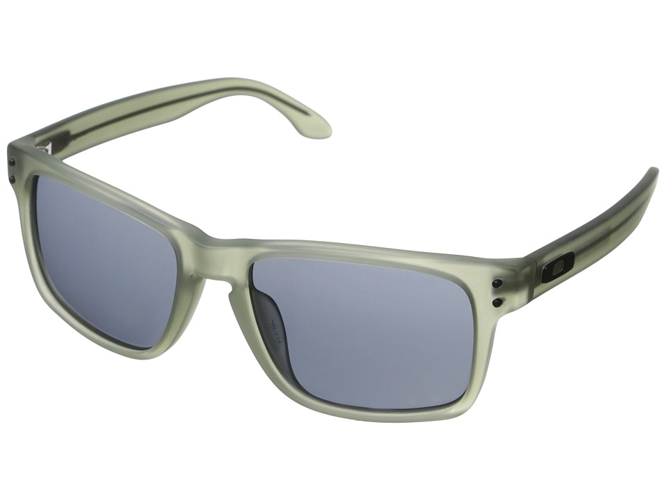Oakley - Holbrook (Grey w/ Satin Olive) Sport Sunglasses