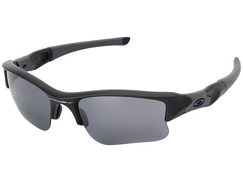 Oakley Flak Jacket XLJ (Black Iridium w/ Carbon) Sport Sunglasses