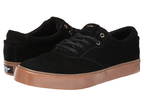 Creative Recreation - Prio (Black Gum) Men's Lace up casual Shoes