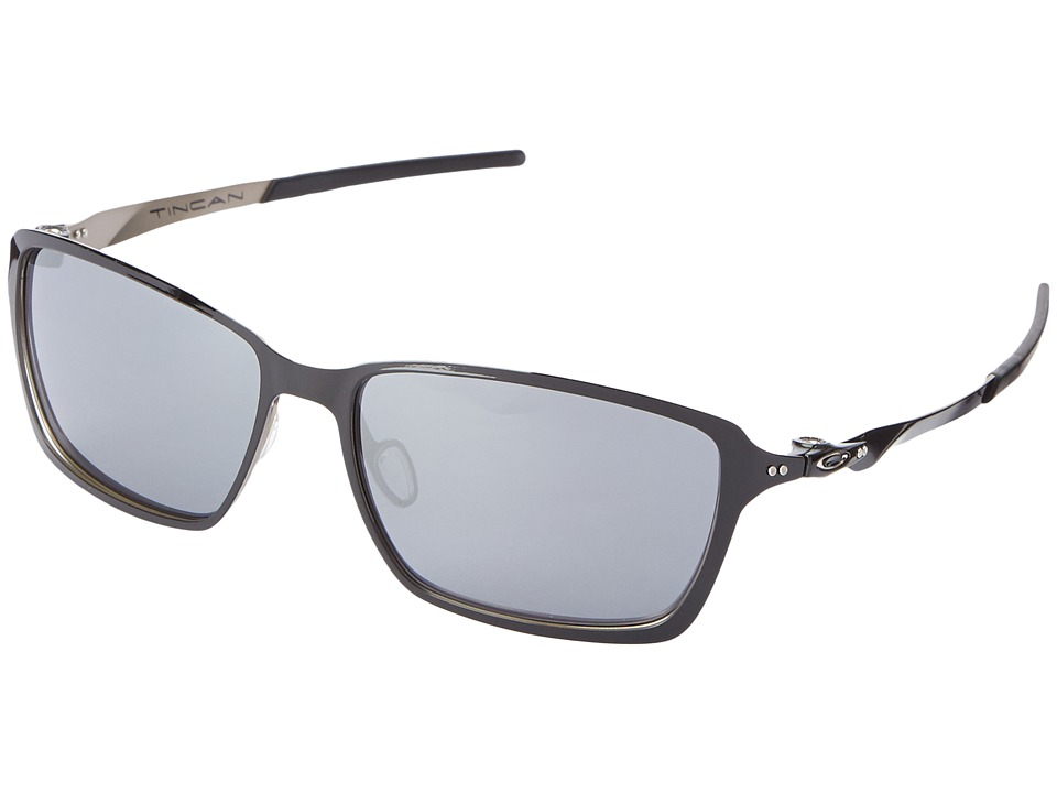 Oakley - Tincan (Black Iridium w/ Polished Black) Fashion Sunglasses