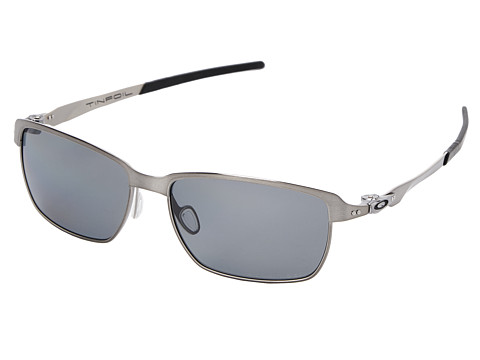 Oakley - Tinfoil (Grey Polarized w/ Brushed Chrome) Fashion Sunglasses