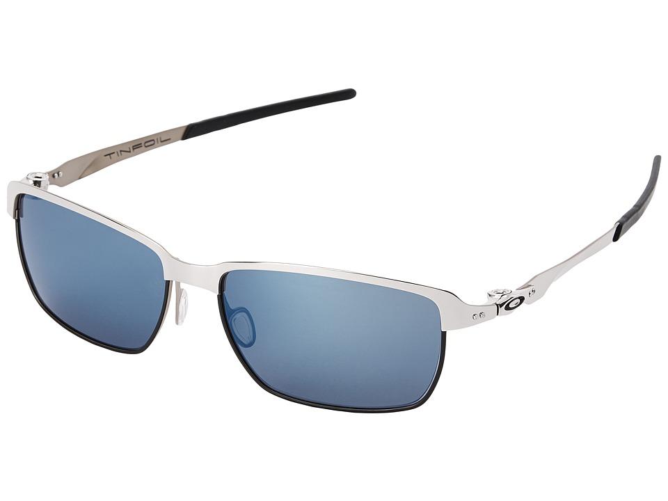 Oakley - Tinfoil (Ice Iridium w/ Polished Chrome) Fashion Sunglasses