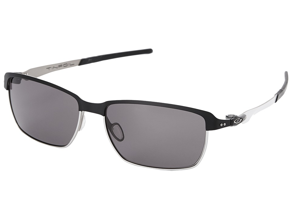Oakley - Tinfoil (Warm Grey w/ Matte Black) Fashion Sunglasses