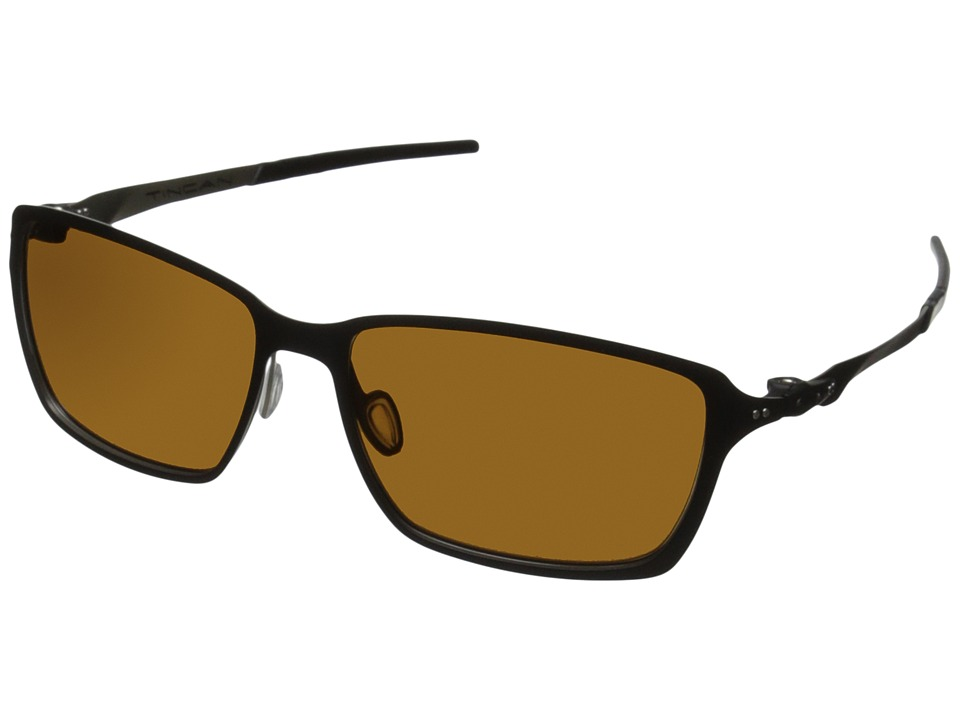 Oakley - Tincan (Dark Bronze w/ Matte Black) Fashion Sunglasses