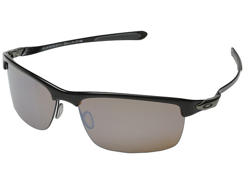Oakley - Carbon Blade (Titanium Iridium Polarized w/ Carbon Fiber) Fashion Sunglasses