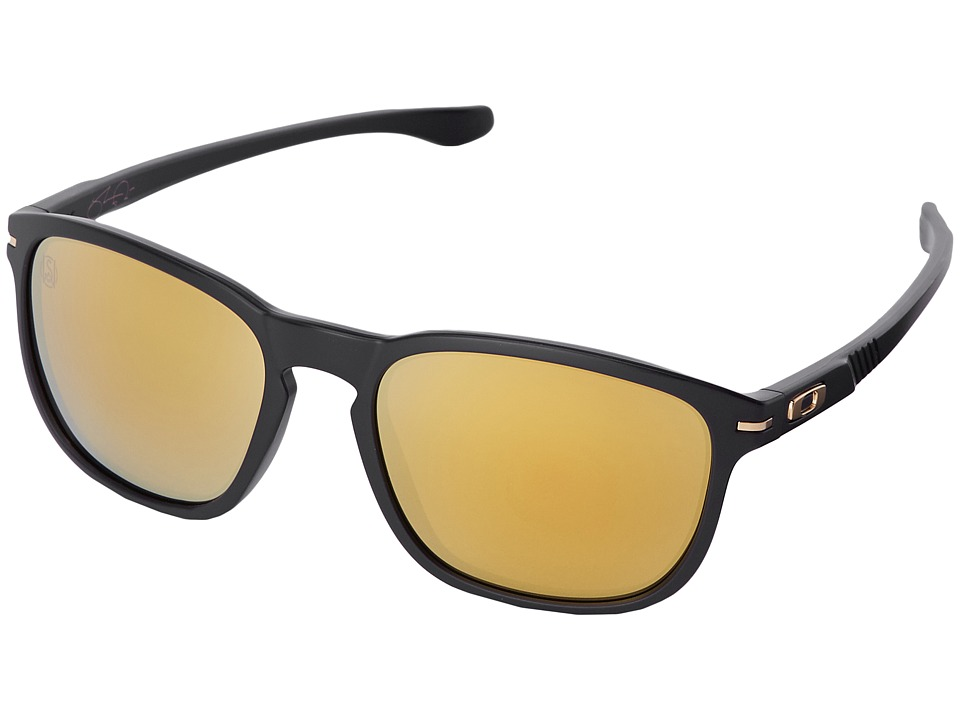 Oakley - Enduro (24K Iridium w/ Matte Black) Fashion Sunglasses