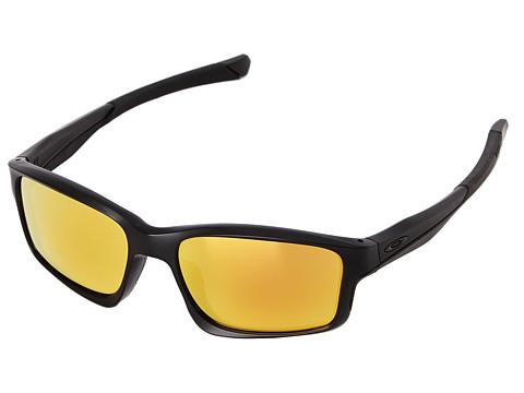 Oakley - Chainlink (Fire Iridium w/ Matte Black) Fashion Sunglasses