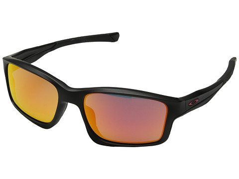 Oakley - Chainlink (Ruby Iridium w/ Matte Black) Fashion Sunglasses