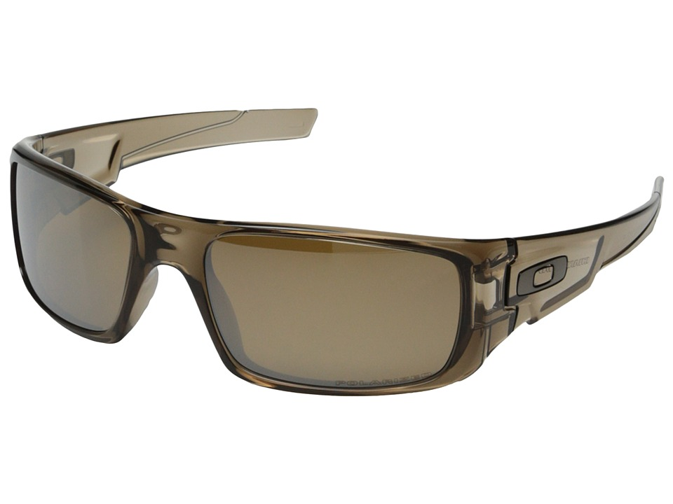 Oakley - Crankshaft (Tungsten Iridium Polarized w/ Brown Smoke) Fashion Sunglasses