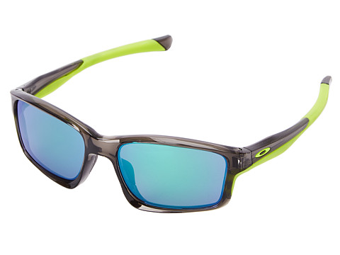 Oakley - Chainlink (Jade Iridium w/ Grey Smoke) Fashion Sunglasses