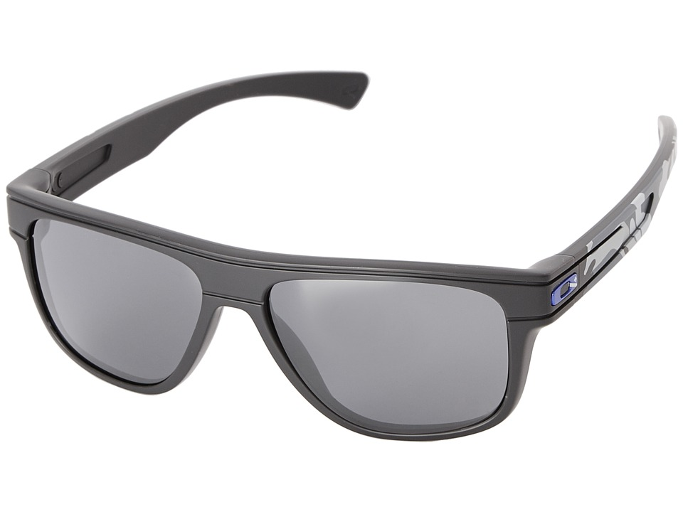 Oakley - Breadbox (Black Iridium w/ Polished Carbon) Sport Sunglasses