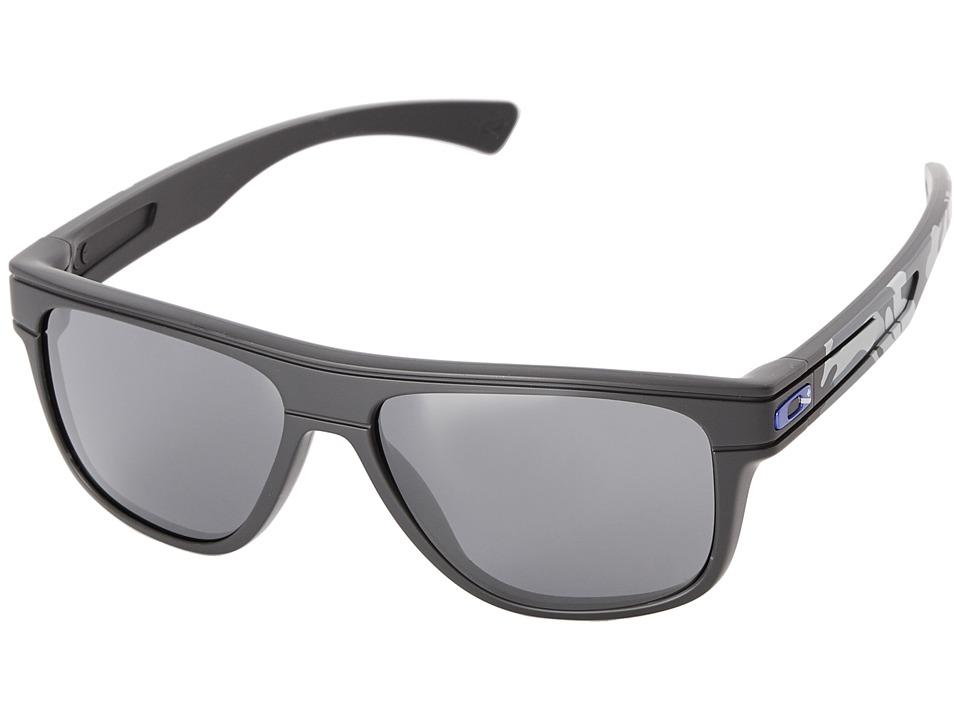Oakley - Breadbox (Black Iridium w/ Polished Carbon) Sport Sunglasses