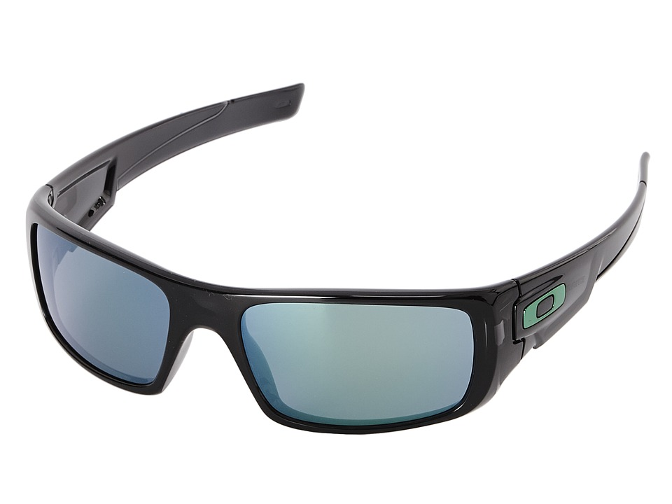 Oakley - Crankshaft (Jade Iridium w/ Black Ink) Fashion Sunglasses