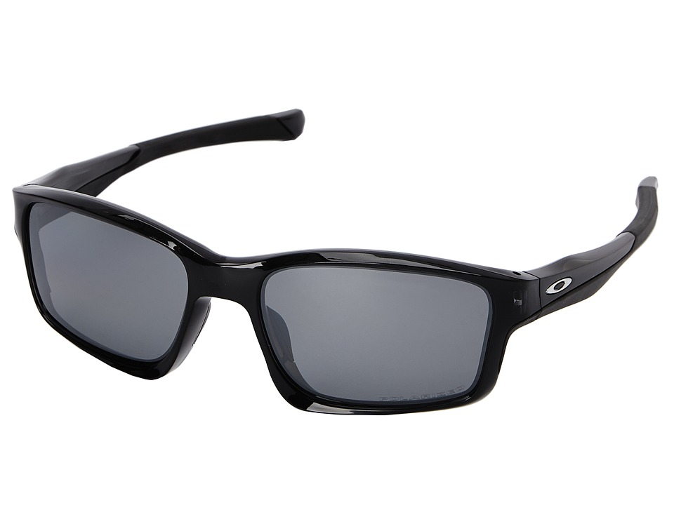 Oakley - Chainlink (Black Iridium Polarized w/ Black Ink) Fashion Sunglasses