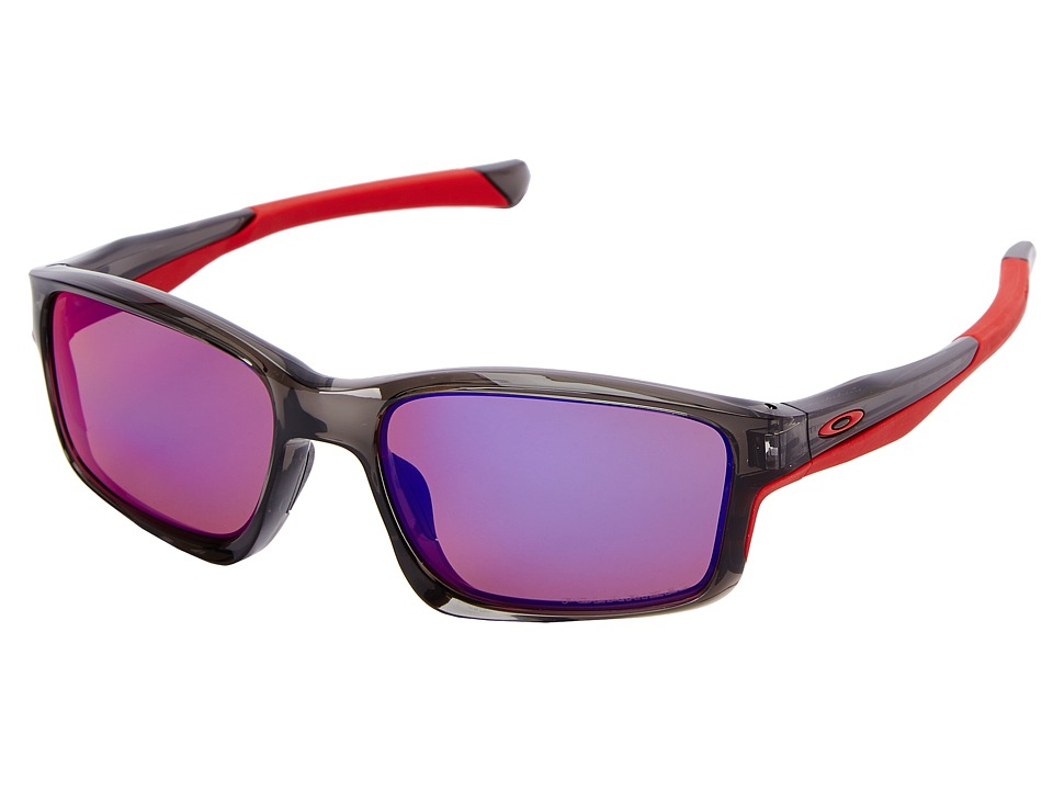 Oakley - Chainlink (OO Red Iridium Polarized w/ Grey Smoke) Fashion Sunglasses