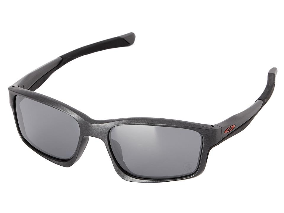 Oakley - Chainlink (Matte Steel W/Black Iridium) Fashion Sunglasses