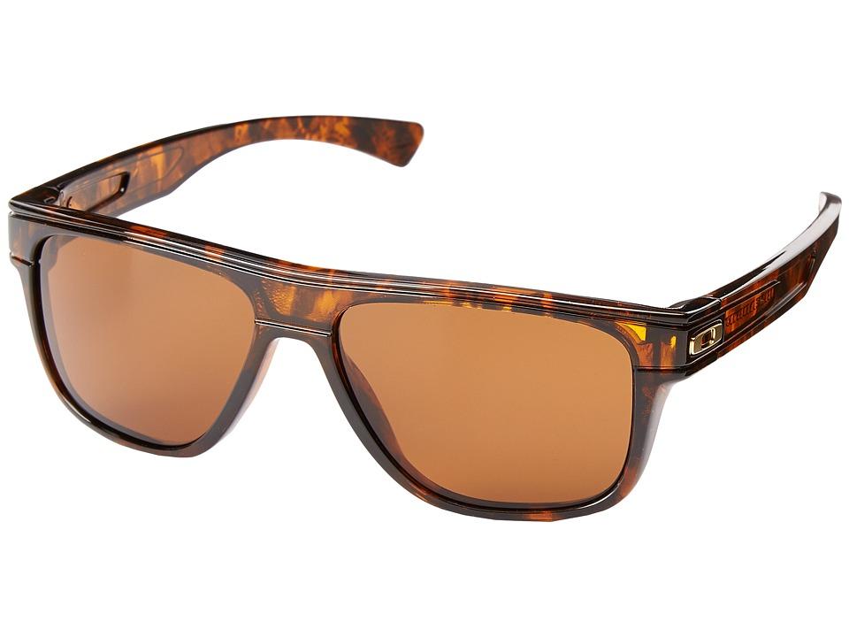 Oakley - Breadbox (Dark Bronze w/ Tortoise) Sport Sunglasses