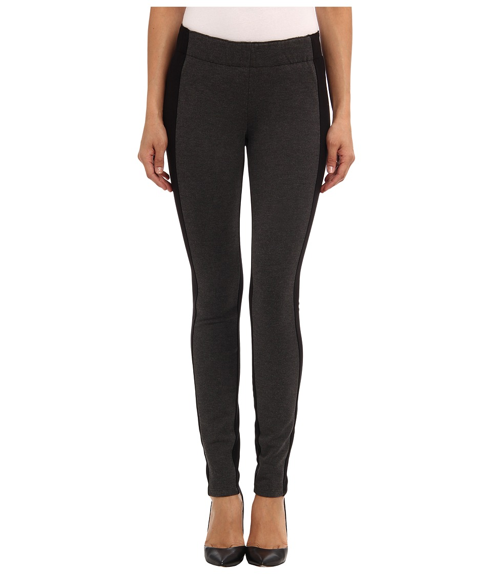 Miraclebody Jeans - Olivia Pull-On Color Block Ponte Legging (Grey Heather) Women