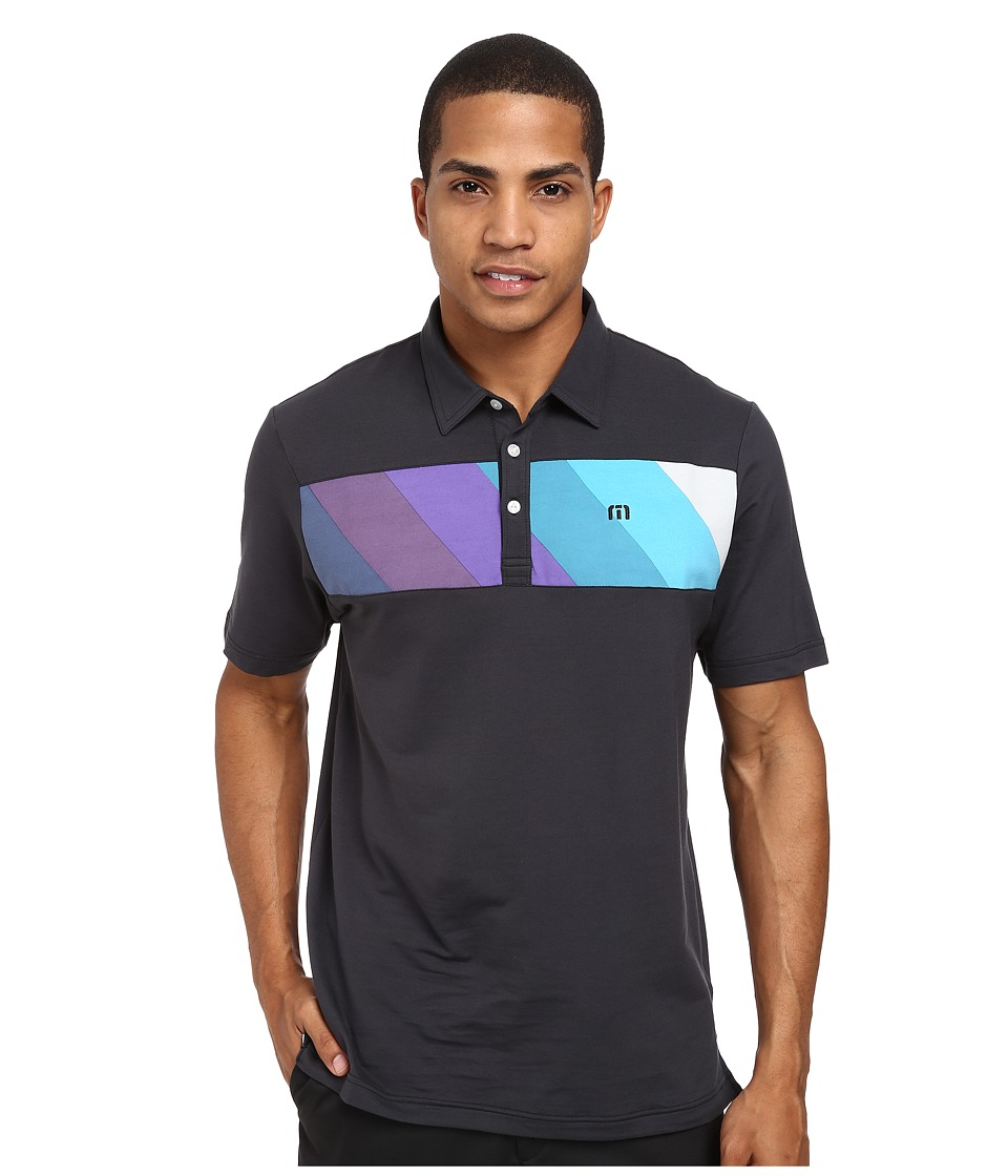 TravisMathew - Verlandey (Black) Men's Short Sleeve Knit