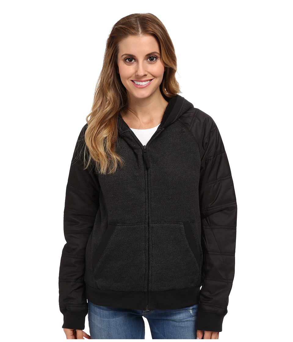 Hurley - Max Sherpa Jacket (Black) Women's Jacket