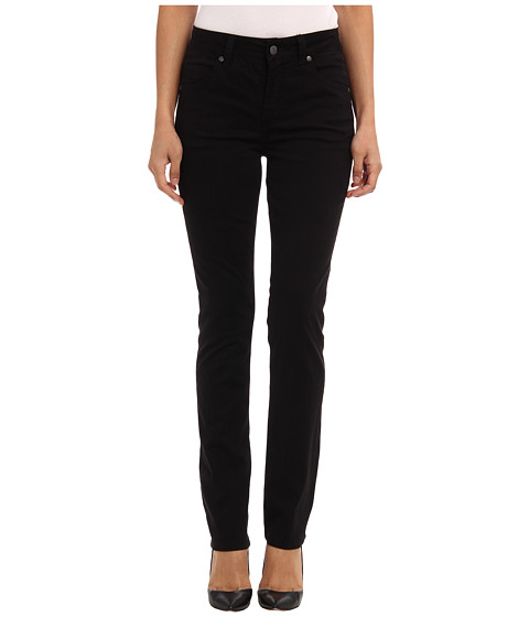 Miraclebody Jeans - Rikki 5 Pocket Skinny Sueded Sateen (Black) Women
