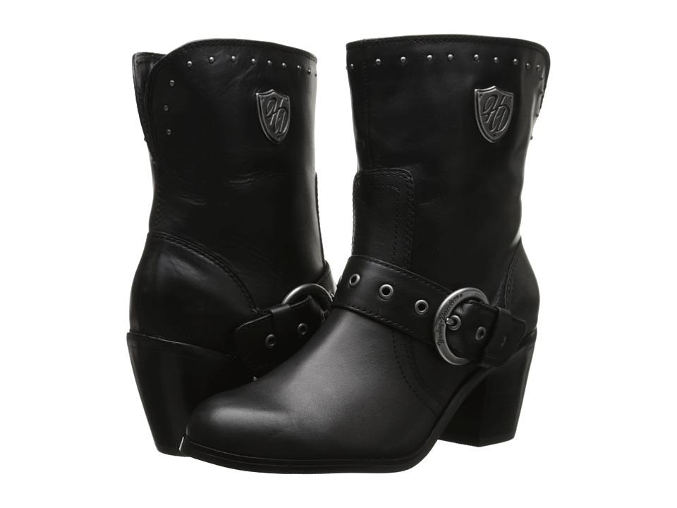 Harley-Davidson - Cheryl (Black) Women's Zip Boots
