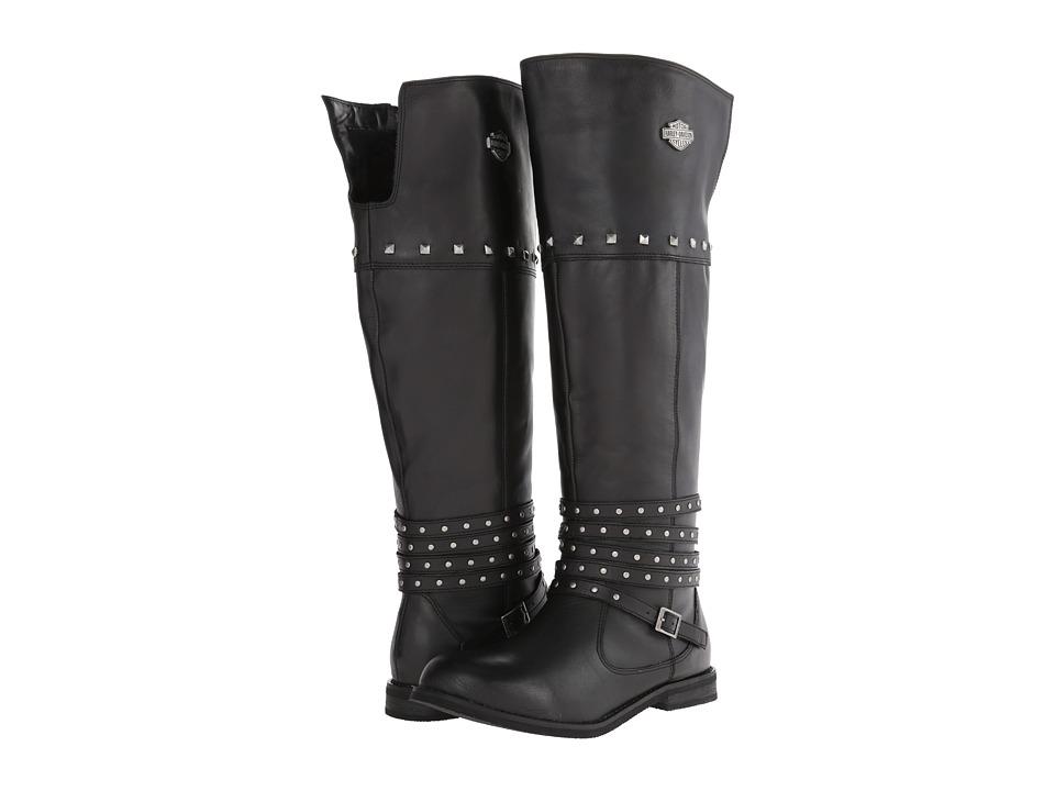 Harley Davidson Keely (Black) Women's Zip Boots