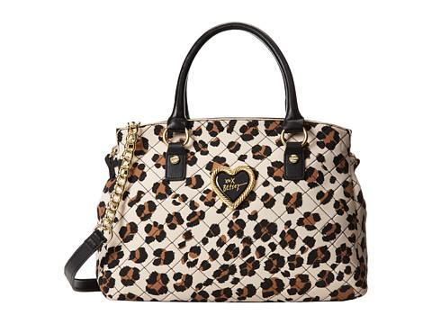 Betsey Johnson Into The Deep Satchel (Leopard) Satchel Handbags