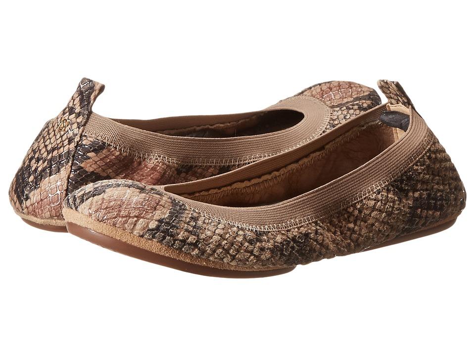 Yosi Samra - Samara Serpent (Beige) Women's Plain Toe Shoes