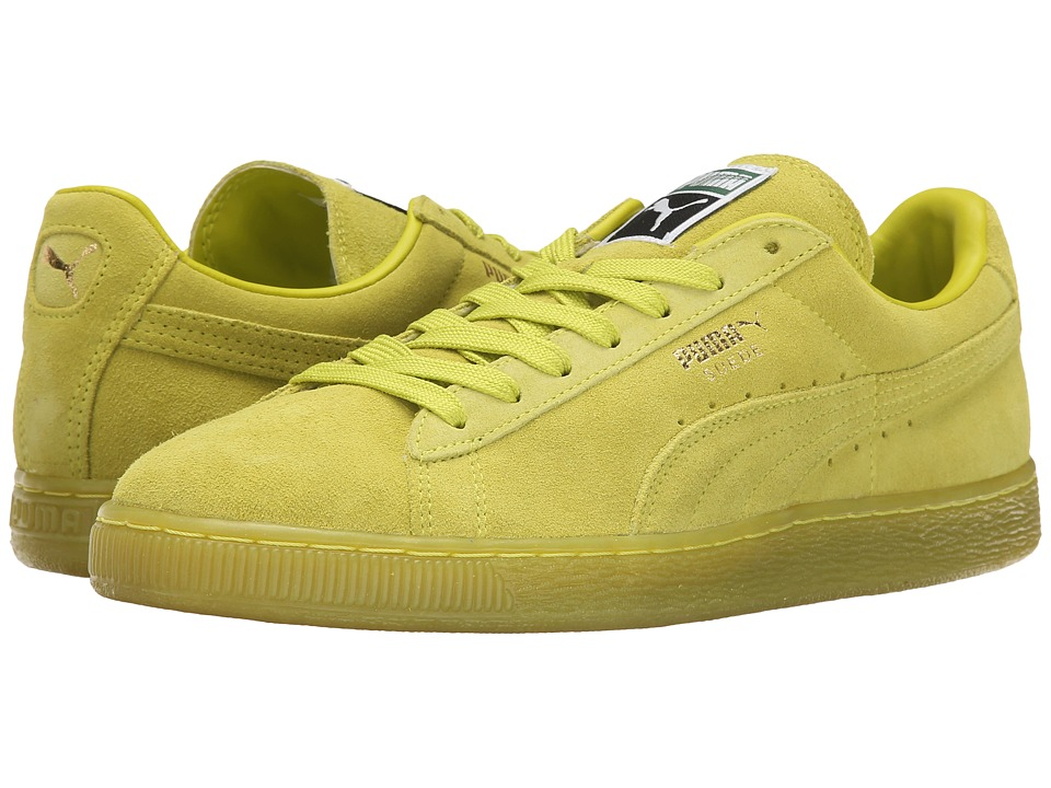 PUMA - Suede Classic+ Iced (Sulphur Spring) Men's Classic Shoes