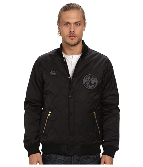 L-R-G - Corpse Corps Bomber Jacket (Black) Men's Coat