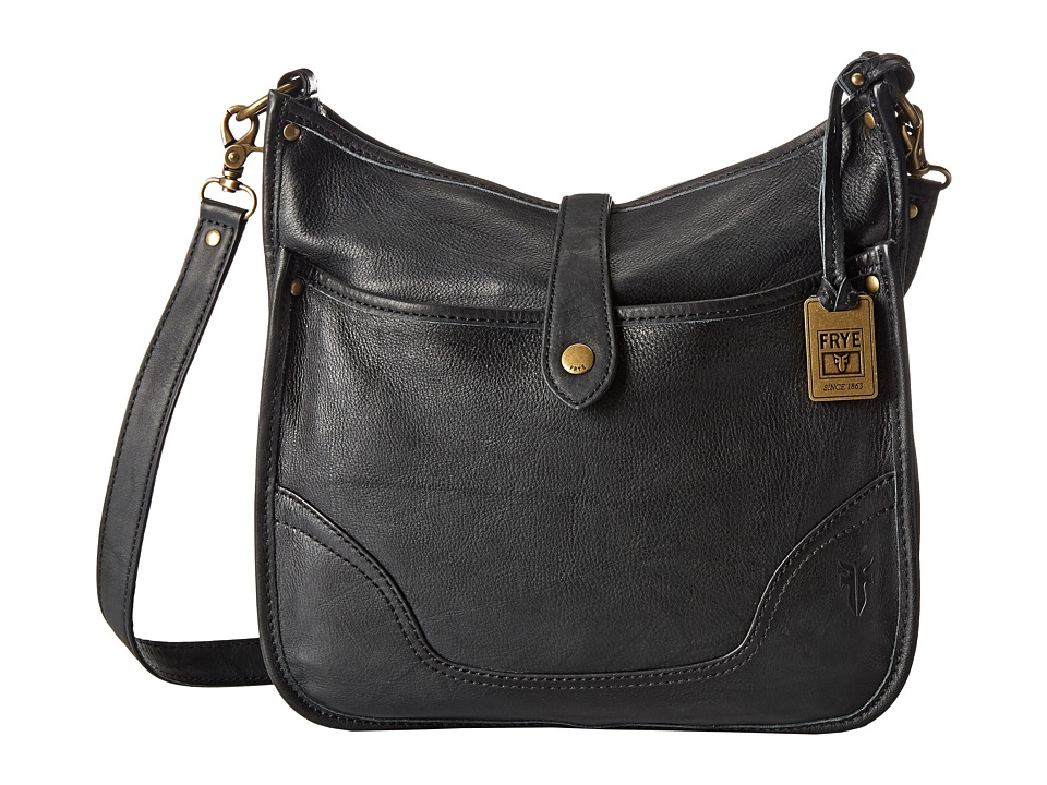 Frye - Campus Crossbody (Black Dakota) Cross Body Handbags