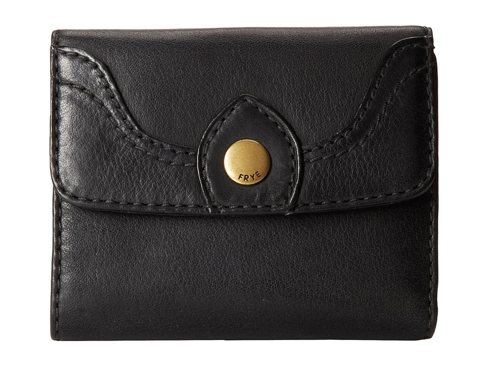 Frye - Campus Small Wallet (Black Dakota) Wallet Handbags