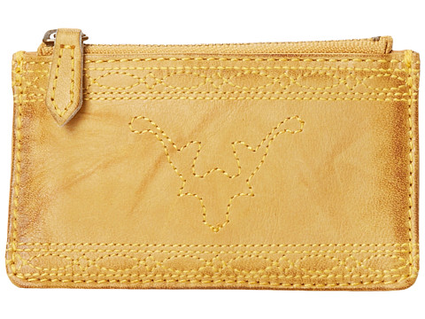 Frye - Campus Stitch Card Case (Banana Dakota) Credit card Wallet