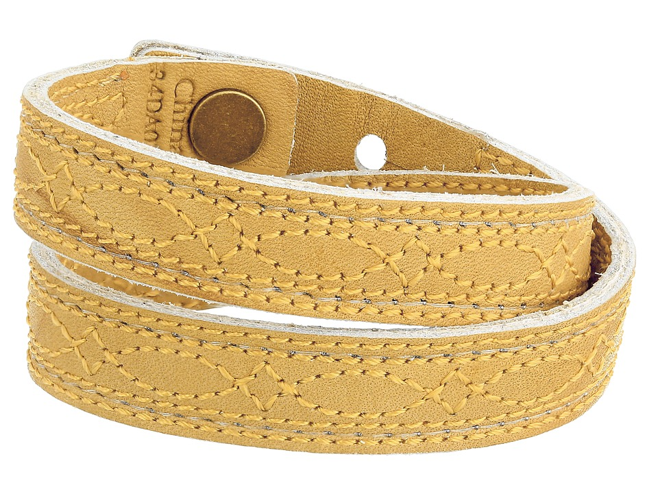 Frye - Campus Stitch Cuff (Banana Dakota) Bracelet