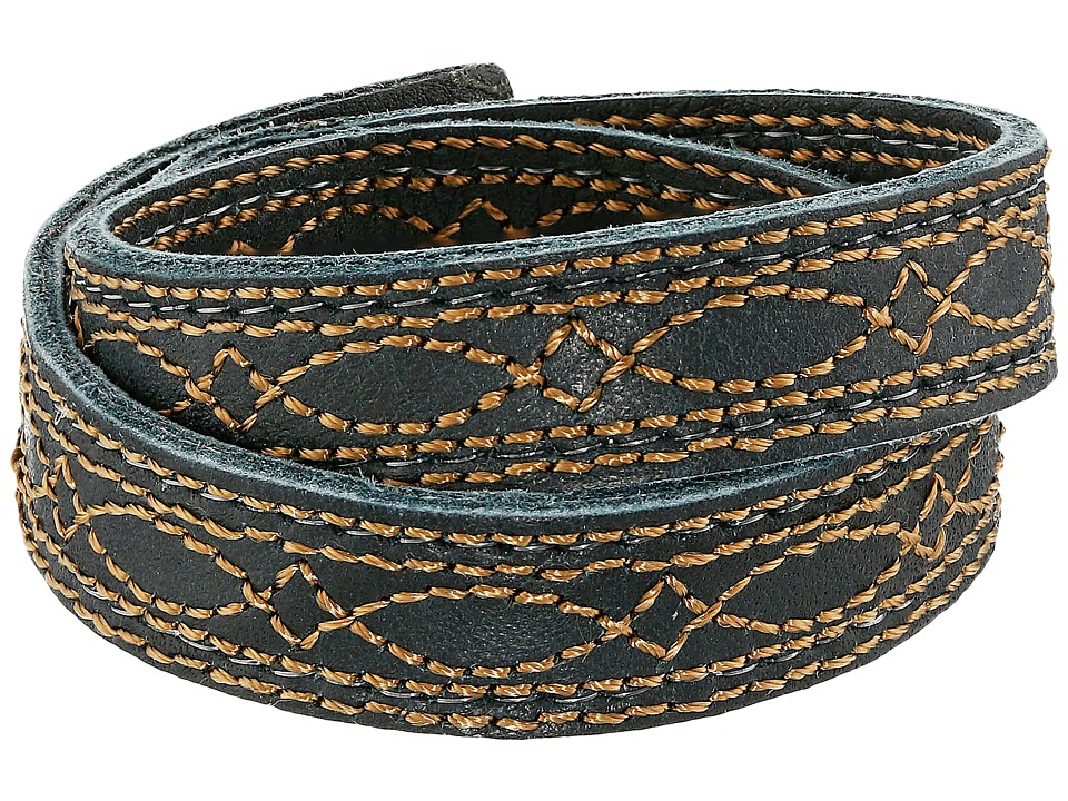 Frye - Campus Stitch Cuff (Black Dakota) Bracelet