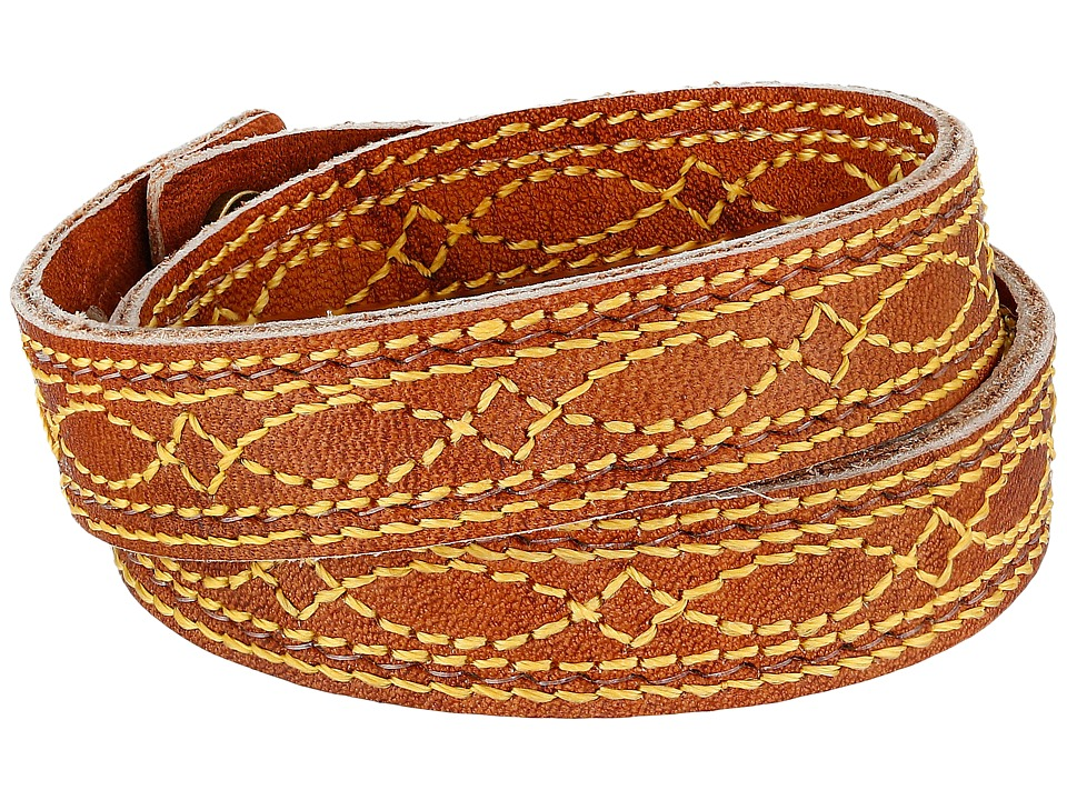 Frye - Campus Stitch Cuff (Saddle Dakota) Bracelet