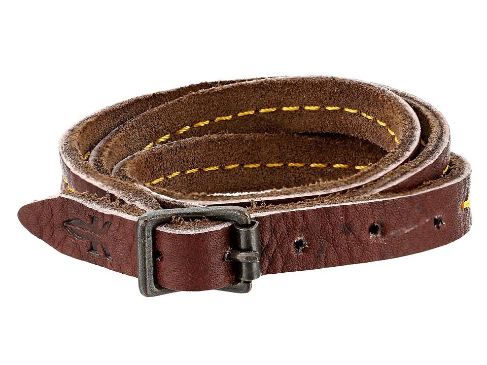 Frye - Campus Wrap Cuff (Walnut Dakota) Bracelet