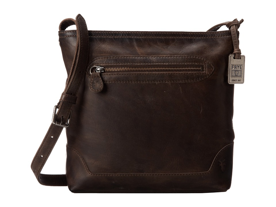 Frye - Melissa Crossbody (Slate Antique Pull Up) Cross Body Handbags