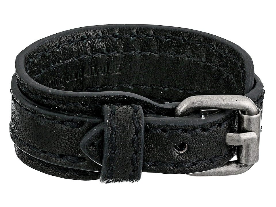 Frye - Michelle Cuff (Black Antique Soft Vintage) Bracelet