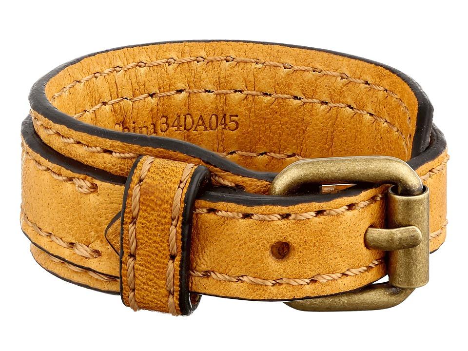 Frye - Michelle Cuff (Yellow Antique Soft Vintage) Bracelet