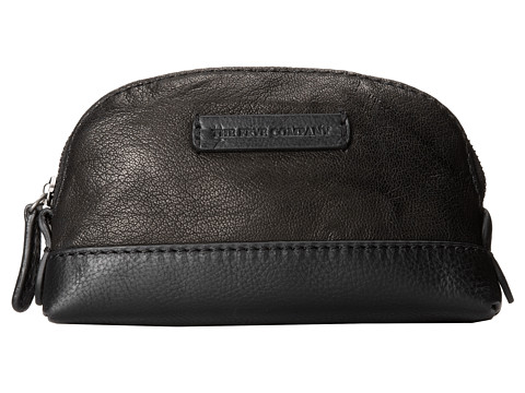 Frye - Michelle Makeup Bag (Black Antique Soft Vintage) Cosmetic Case