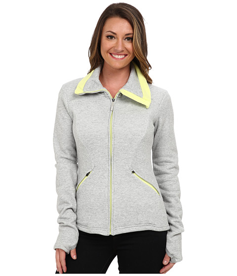 Bench - Mountain Cluster Zip (Grey Marl) Women